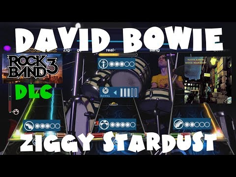David Bowie - Ziggy Stardust - Rock Band 3 DLC Expert Full Band (January 25th, 2011)