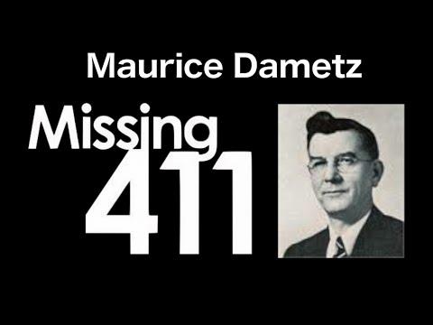 Maurice Dametz Case - Missing 411