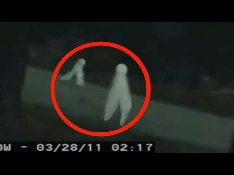 Aliens caught on Security Camera