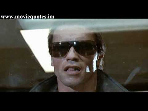 I'll be back - Arnold Schwarzenegger - The Terminator