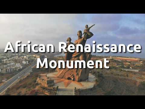 African Renaissance Monument - Dakar Senegal - Tallest Statue in Africa