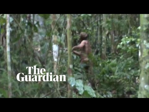 Fresh footage released of last survivor of Brazilian Amazon tribe