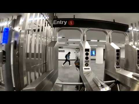 ⁴ᴷ Walking Tour of WTC Cortlandt (1) Subway Station