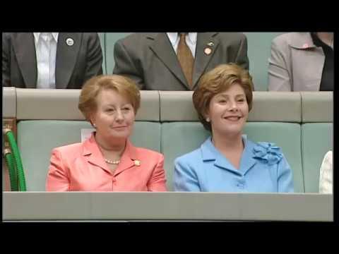 George W Bush Speech to the Australian Parliament - 23/10/2003