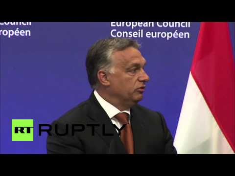 """Belgium: Migrant and refugee crisis fills Europe with """"fear"""" - Hungarian PM Orban"""