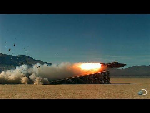 JATO 3 Rocket Car Results | MythBusters