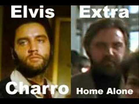 Elvis in 1977 vs Extra in Home Alone 1990
