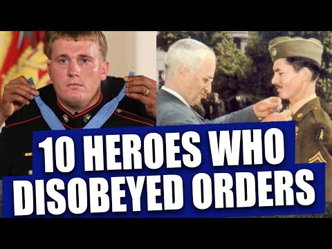 Top 10 troops who became heroes after disobeying orders