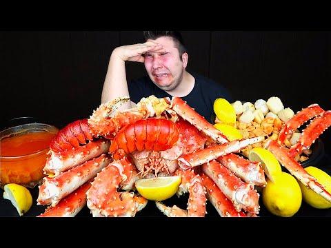 My Last Seafood Boil Ever • MUKBANG (emotional)