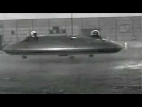 The Avrocar - Top Secret Flying Saucer (Canada/USA, 1952-1961)