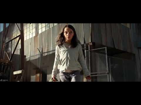 Logan and x-23 fight scene