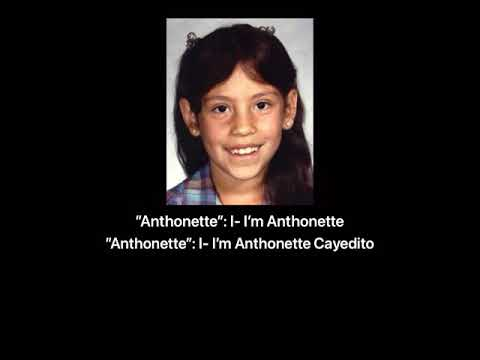 Anthonette Cayedito 911 call with subtitles