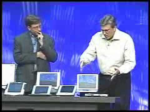 KNNarchive COMDEX 2001 Bill Gates keynote speech Microsoft