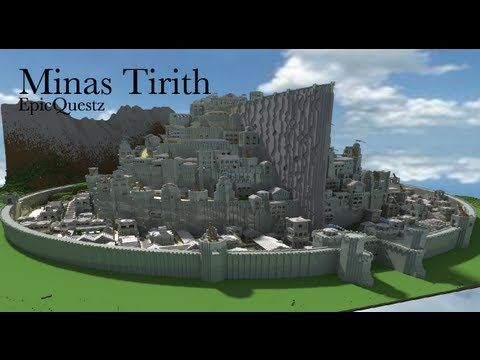 Minecraft Minas Tirith - A lord of the rings build