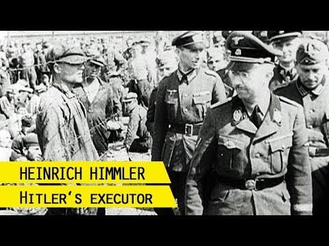 Heinrich Himmler, Reichsführer-SS, about the extermination of the Jews