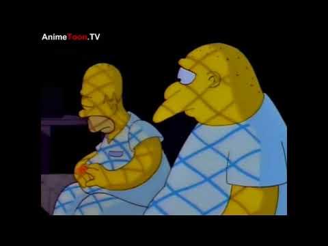 Michael Jackson on The Simpsons – Stark Raving Dad