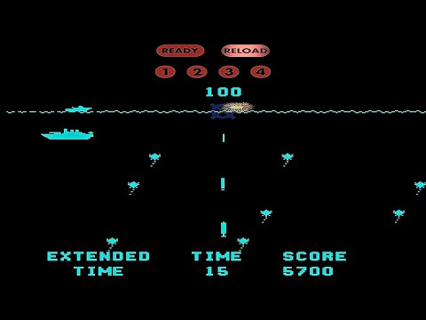 Sea Wolf (1976) ~ Complete Gameplay ~1C【Arcade】