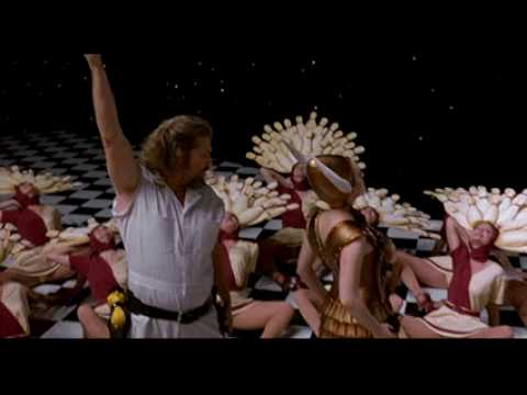 The Big Lebowski music video.Just Dropped In (To See What Condition My Condition Was In)