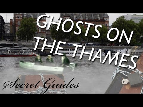 Ghost Ship On The River Thames & The Haunting Of Jack The Ripper At Westminster Bridge