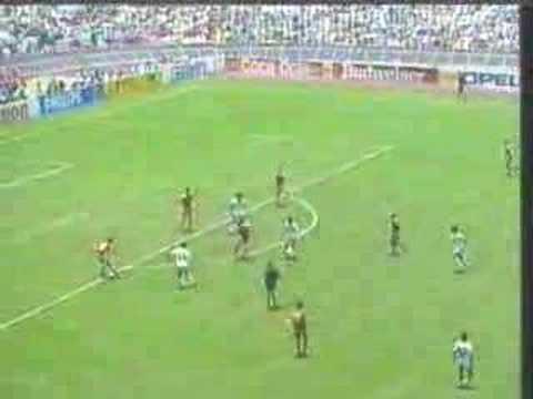 Manuel Negrete México vs. Bulgaria Copa FIFA del Mundo 86