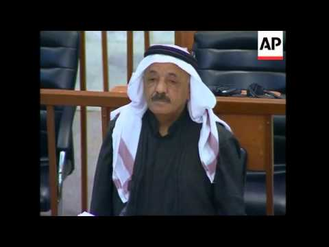 Saddam deputy hanged in Iraq for the killings of 148 Shiites