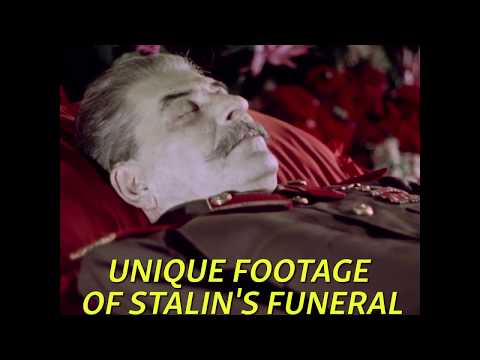 The Death Of Stalin: Unique Propaganda Footage Shows Dictator's Funeral
