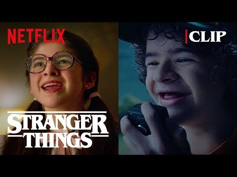 Neverending Story Moment | Stranger Things 3 | Netflix