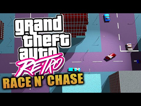 "GTA Retro: ""Race 'N' Chase"" The GLITCH That Started The Grand Theft Auto Series! (GTA)"