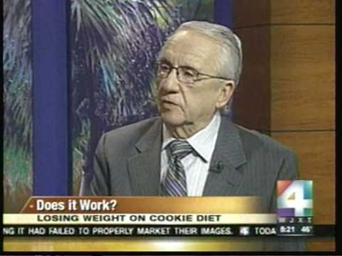 Dr. Siegal's Cookie Diet on Channel 4 News
