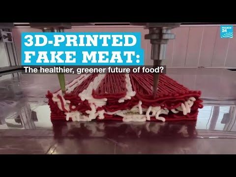 3D-printed fake meat: The healthier, greener future of food?