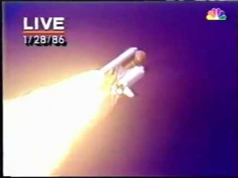 Space Shuttle Challenger Explosion LIVE TV