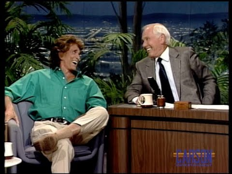 Michael Landon's final appearance on The Tonight Show Starring Johnny Carson - pt.1