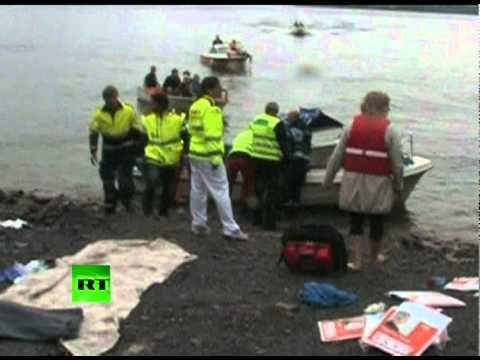 Norway Shooting: Video of Utoya massacre victims, rescue effort