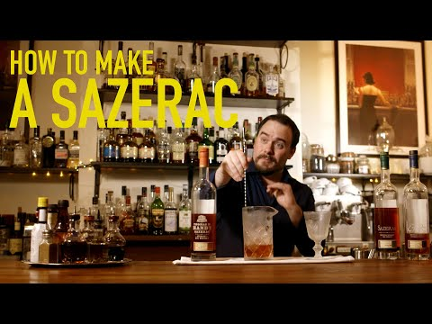 How to Make the Best Sazerac Cocktail