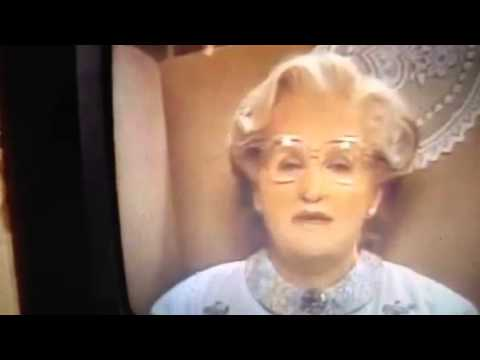 Mrs. Doubtfire: All my love to you poppet
