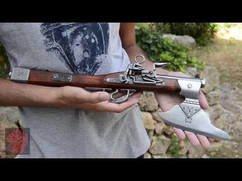 Denix Axe-Pistol, Germany 17th. C.