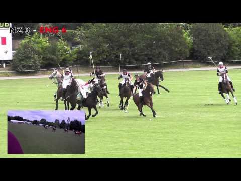 England vs New Zealand Polo Match