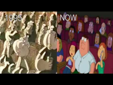 Family Guy: 1995 Pilot VS. Current Series! Must See!