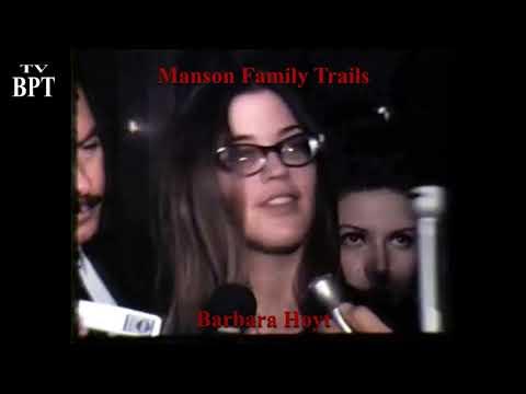 Barbara Hoyt Talks Acid/LSD Manson Trials (September 9, 1971)