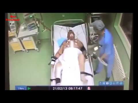 Shocking: Doctor viciously beats heart patient in ICU; man dies