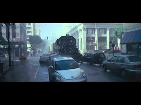 Inception train in the city