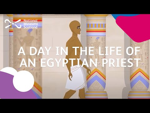 A day in the life of an ancient Egyptian priest