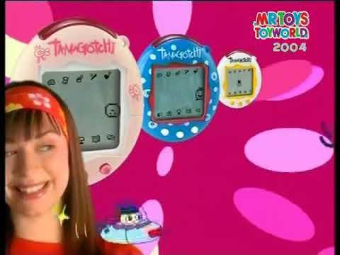 Tamagotchi Connection Toy Commercial 2004