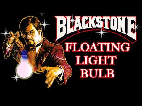 Blackstone Jr. Floating Lightbulb Miracle Classic of Magic