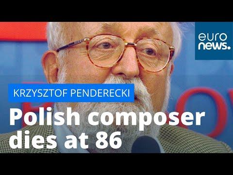 Grammy award-winning Polish composer Krzysztof Penderecki dies at 86