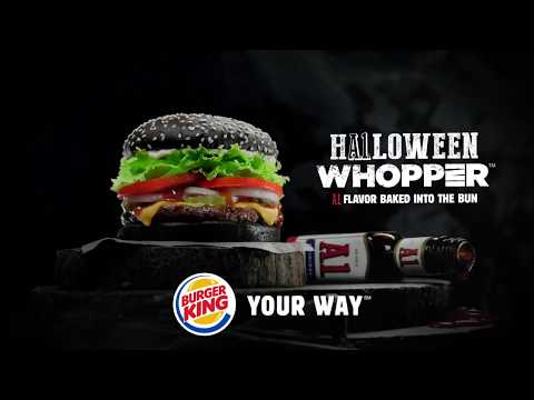 Burger King Halloween Whopper Commercial (2015)
