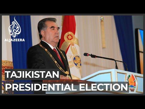 Tajikistan vote seen as easy win for strongman Emomali Rahmon