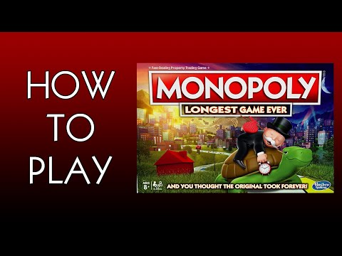 How To Play Monopoly Longest Game Ever Board Game By Hasbro