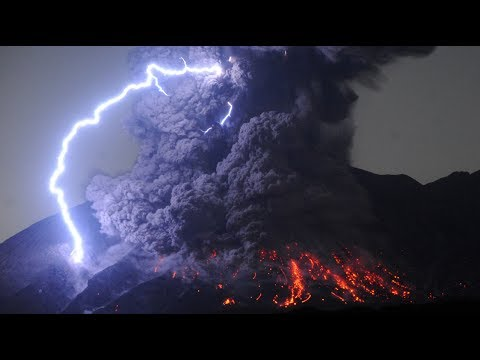 Volcanic Lightning - WTF Weather