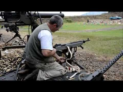 "Albany 2013 M1895 ""Potato digger"" belt fed machine gun"